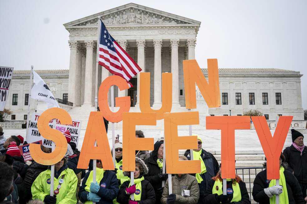 ¿En qué consiste el histórico debate de Corte Suprema de EE. UU sobre control de armas?