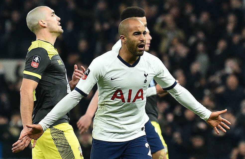Con Dávinson Sánchez los últimos minutos, el Tottenham pasa a los octavos de final de la FA Cup