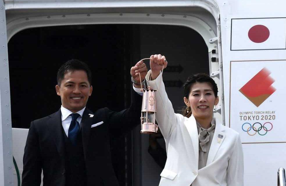 La antorcha olímpica llegó a Japón