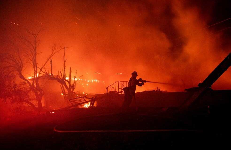 Incendios forestales, el nuevo reto en Estados Unidos en medio de crisis sanitaria