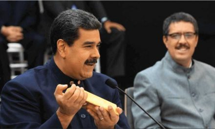 Irán saca lingotes de oro de las afligidas bóvedas de Venezuela