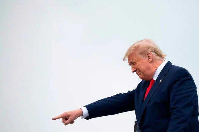 ¿Las encuestas pusieron nervioso a Trump?