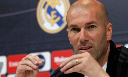"""""""James quiere jugar más, lo entiendo"""", Zidane"""