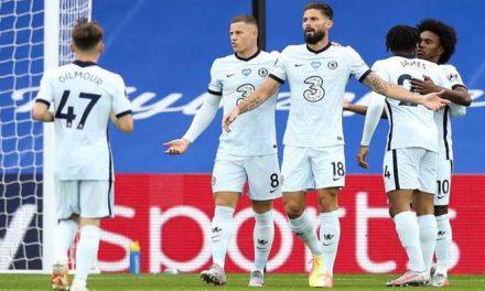 Chelsea venció 3-2 a Crystal Palace y seguirá en zona de Champions