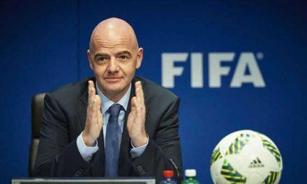 """Gianni Infantino, presidente de la FIFA, afirma que cooperará """"sin reservas"""" con la Justicia"""