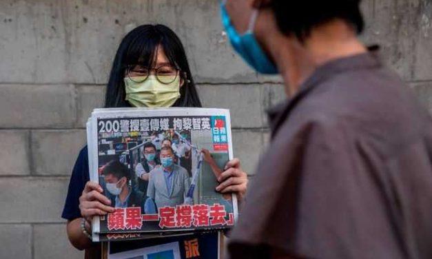 """Taiwán advierte que podría convertirse en """"el próximo Hong Kong"""""""