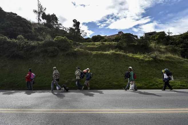 Migrantes venezolanos, de regreso a Colombia
