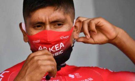El equipo Arkéa dice que apoya a sus ciclistas colombianos