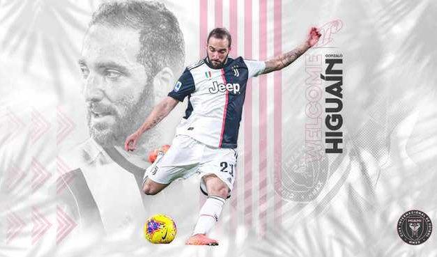 Gonzalo Higuaín es nuevo jugador del Inter Miami