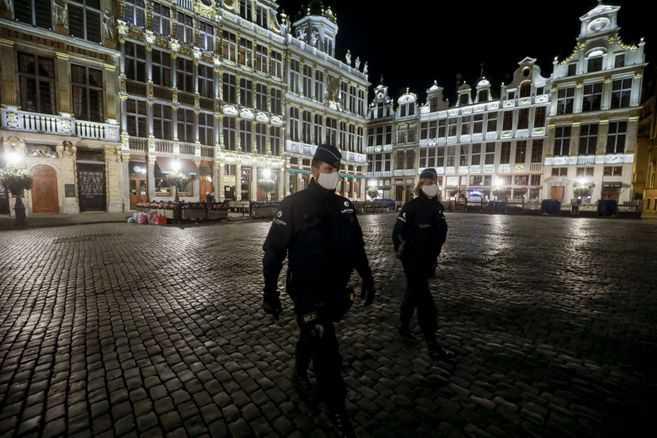 Bélgica se convierte en el país europeo más golpeado por el coronavirus