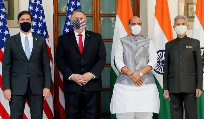 Las tensiones con China impulsan la alianza militar entre EE. UU. e India