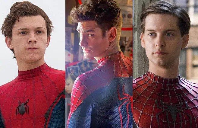 Tom Holland, Tobey Maguire y Andrew Garfield, ¿juntos en Spider-Man 3?