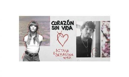 "Aitana y Sebastián Yatra lanzan ""Corazón sin vida"""