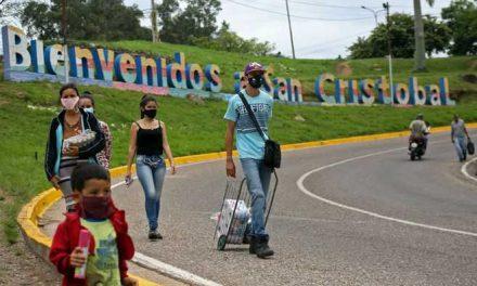Los problemas de los migrantes venezolanos durante las protestas en Colombia