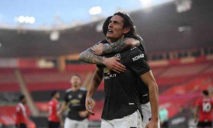 Cavani amenaza al PSG en la quinta jornada de la Champions League