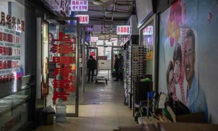 Así está el mercado de Wuhan donde surgió la covid-19