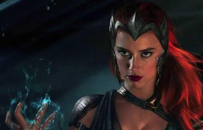 """Amber Heard podría ver reducida su participación como Mera en """"Aquaman 2″"""