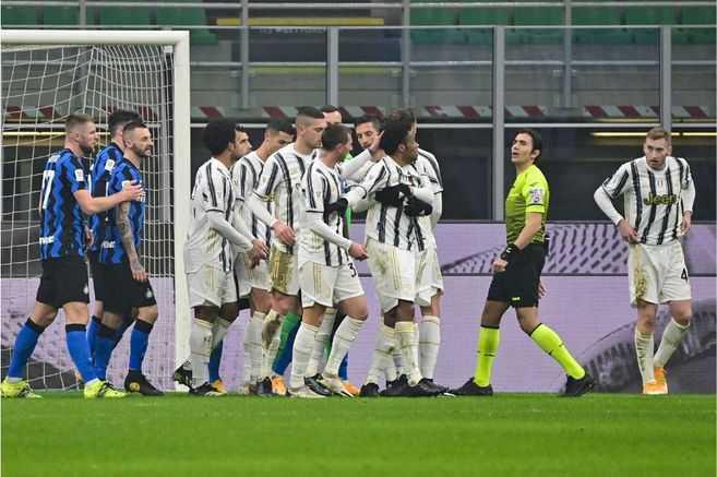 Inter buscará remontarle a la Juventus de Juan Guillermo Cuadrado