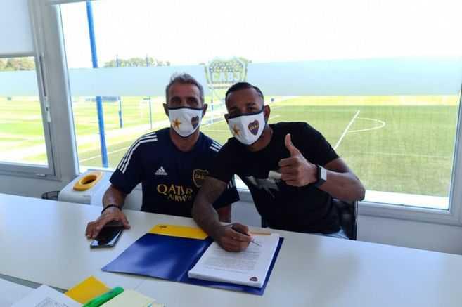 Primero a Frank Fabra y, ahora, Boca Juniors renovó a otro colombiano