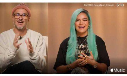 """Karol G presentó su nuevo disco """"KG0516″ con Apple Music"""