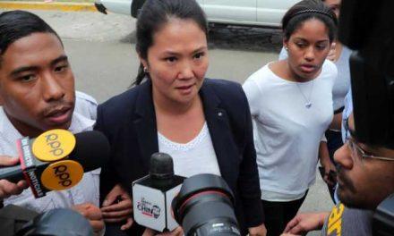 Fiscal peruano pide 30 años de prisión para la candidata presidencial Keiko Fujimori