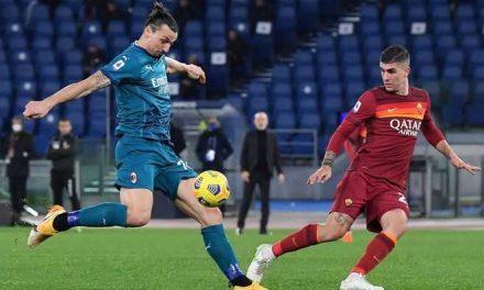 Milan ganó en Roma y sigue en la lucha por el Scudetto