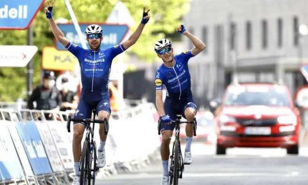 Mikkel Frølich Honoré ganó la quinta etapa de la Vuelta al País Vasco