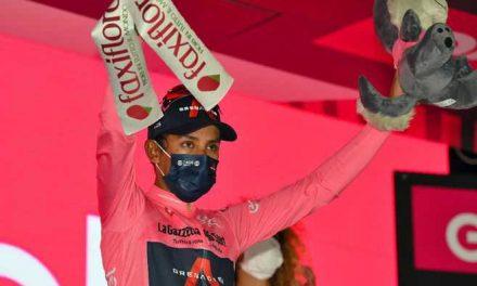 Más líder que nunca: así va la clasificación general del Giro de Italia