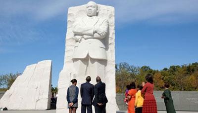 """Obama: Luther King habría apoyado a los """"indignados"""""""