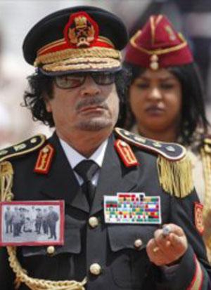Una «esclava sexual» de Gadafi cuenta su historia en «Le Monde»