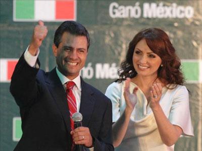 En Mexico… Los rumores de violencia opacan la relación de Peña Nieto y «La Gaviota»