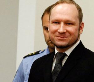 Asesino de Oslo, condenado a 21 años de cárcel