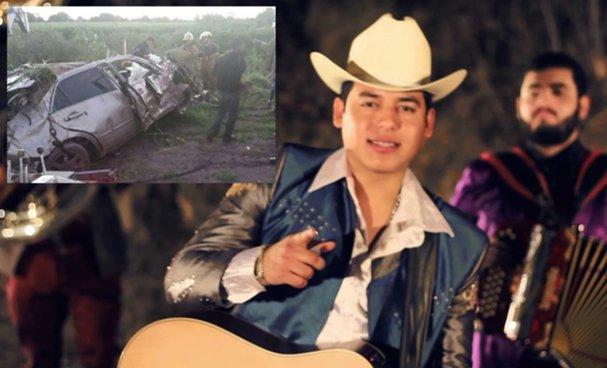 Muere en accidente cantante mexicano Ariel Camacho