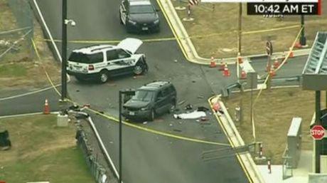 Tiroteo frente a la NSA en causó un muerto y un herido en Maryland