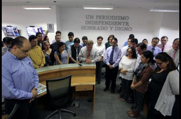 Periodistas de Guatemala protestan por asesinato de colegas
