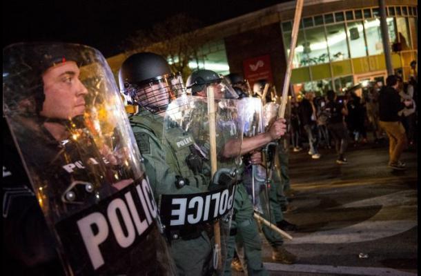 143 detenidos por protesta en Nueva York sobre los incidentes en Baltimore