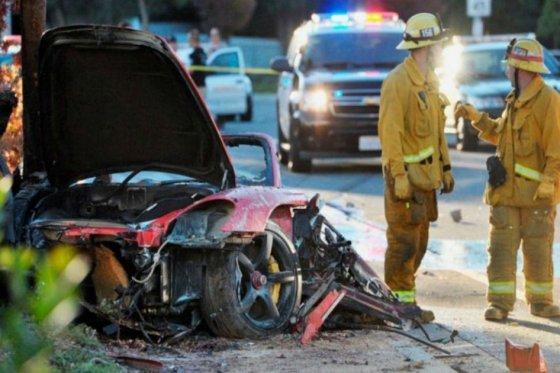 Hija de Paul Walker demanda a Porsche tras accidente de su padre