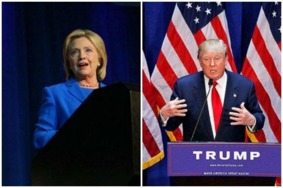 Trump y Carson despuntan en sondeos mientras Bush y Clinton siguen cayendo