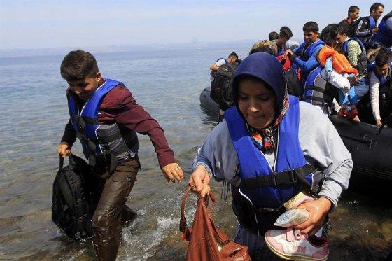 Llegan a Francia los 200 primeros refugiados enviados desde Alemania