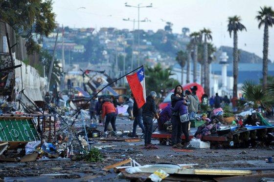Autoridades chilenas actualizan cifra de muertos tras terremoto, ya son 11 las vícitmas