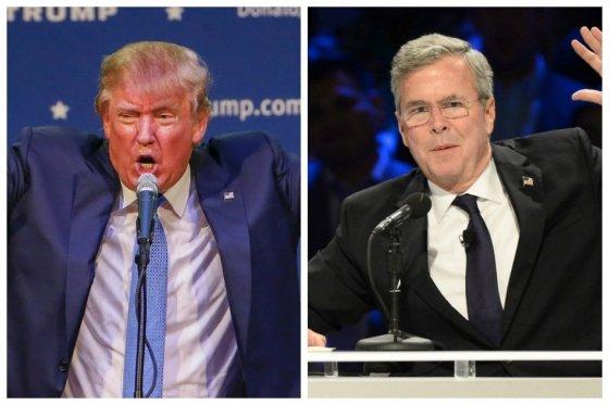 El enfrentamiento de Donald Trump y Jeb Bush por comentario del magnate sobre el 11S