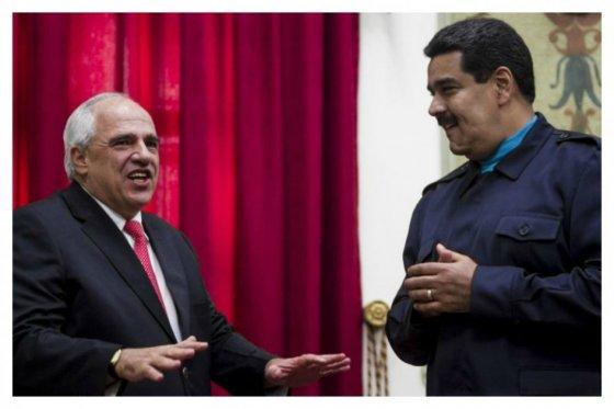 Maduro y Samper se reunieron para tratar acompañamiento de Unasur en elecciones