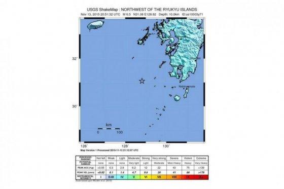 Sismo de magnitud 7 que sacudió a Japón originó un tsunami leve