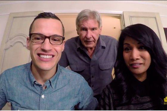 Harrison Ford lanza sorteo para asistir al estreno de Star Wars