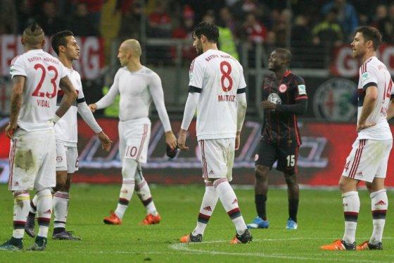 Bayern cortó su racha ganadora en la Bundesliga