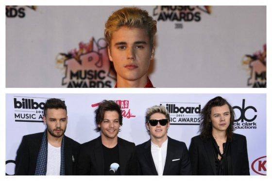 Justin Bieber y One Direction intentan madurar con sus nuevos discos