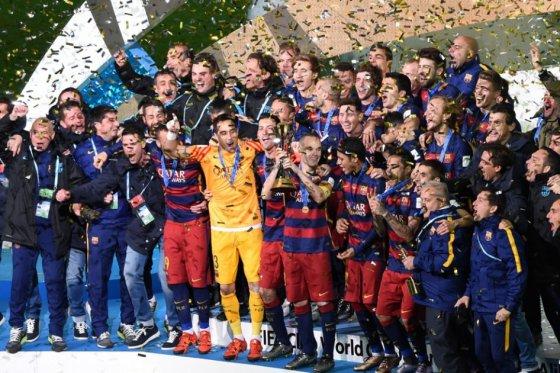 ¡Barcelona, tricampeón del Mundial de Clubes!
