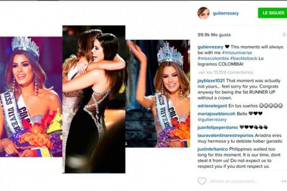 La confusión de Miss Universo 2015, en video