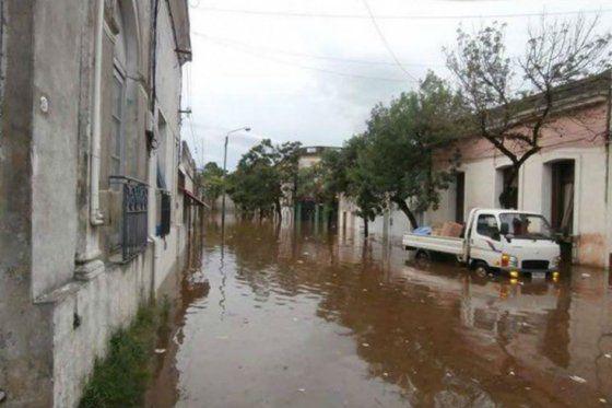 Se reduce a 13.844 el número de desplazados por las inundaciones en Uruguay