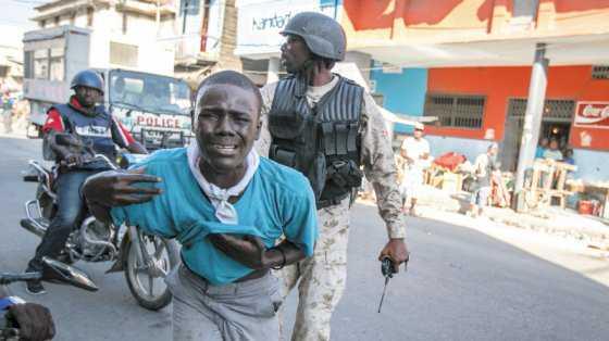Haití, cheque en blanco para el caos